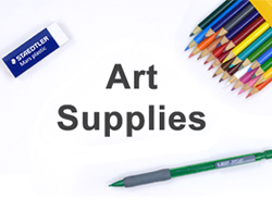 List of Art Supplies Materials