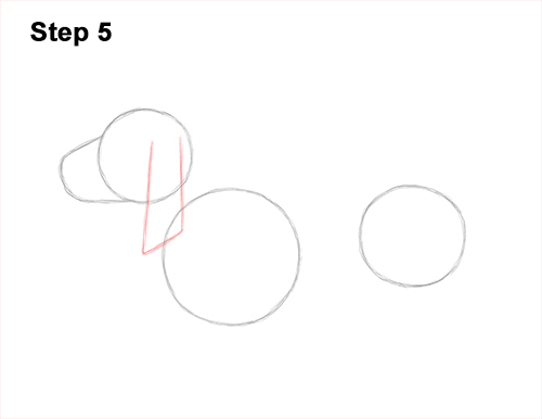 How to Draw a Basset Hound Puppy Dog Side View 5