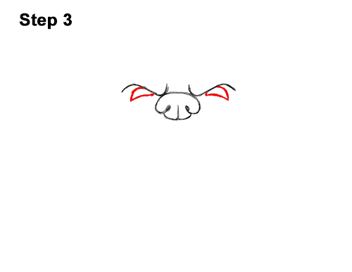 How to Draw a Cartoon Grizzly Bear Head Roaring 3