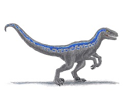 How to Draw a Blue Velociraptor Jurassic World