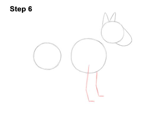 How to Draw a Bull Terrier Dog Puppy Side View 6