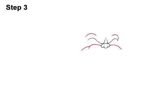 Draw Cartoon Bulldog Tough Mean Dog 3