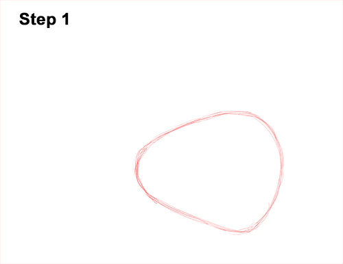 How to Draw a Monarch Butterfly Side Wings 1