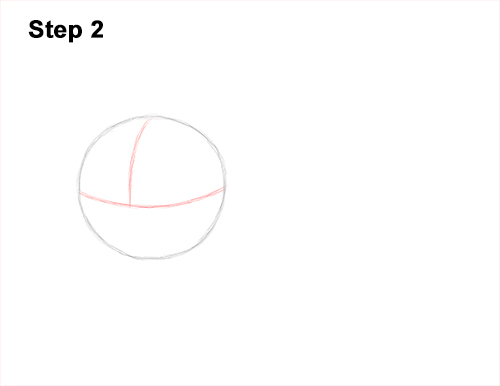 How to Draw a Tabby Kitty Cat Sitting Laying Roosting 2