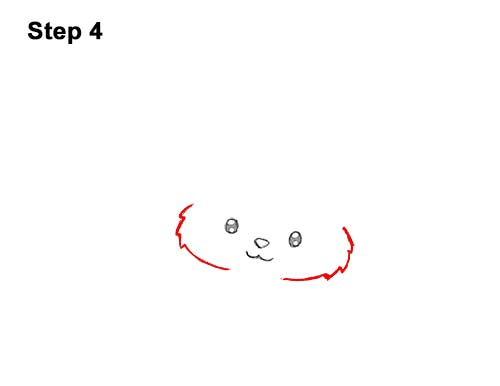 How to Draw Cute Cartoon Cat Kitten Witch Hat Halloween 4