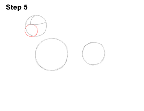 How to Draw Dalmatian Puppy 5