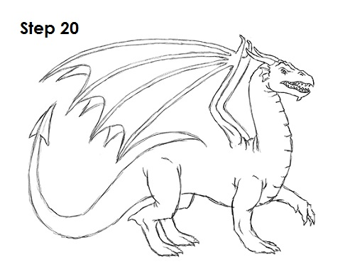 Draw Dragon 20