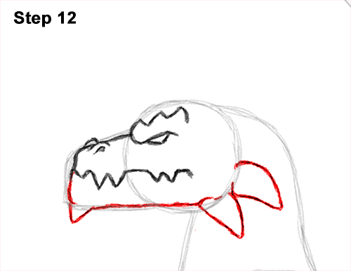 How to Draw a Spring Summer Earth Dragon 12