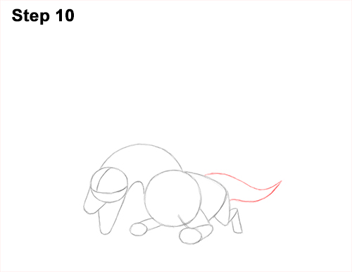 How to Draw Dragon Flying Fire Wings Flames 10