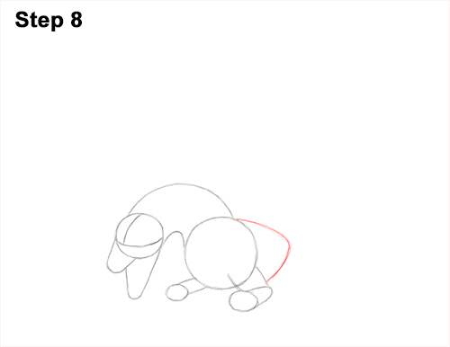 How to Draw Dragon Flying Fire Wings Flames 8