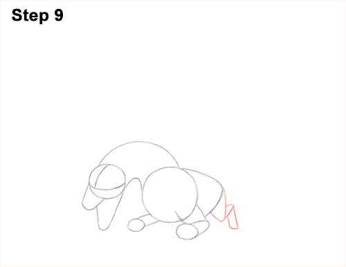 How to Draw Dragon Flying Fire Wings Flames 9