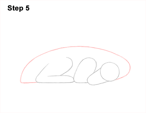 How to Draw a Dragon Sleeping Side 5