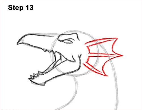How to Draw Water Dragon Fictional 13