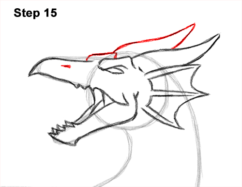 How to Draw Water Dragon Fictional 15
