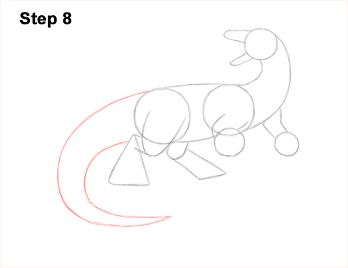 How to Draw Water Dragon Fictional 8