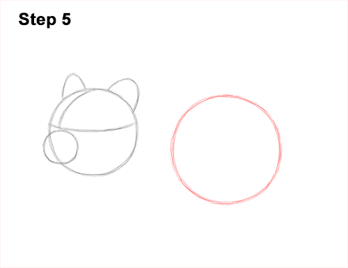 How to Draw a Russian Winter White Dwarf Hamster 5