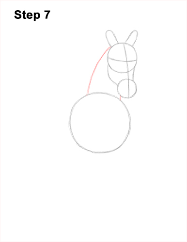 How to Draw Horse Running Front Forward 7