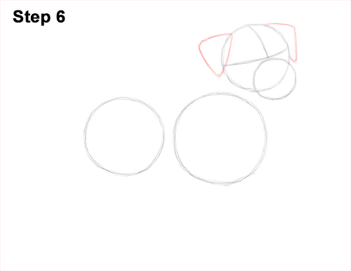 How to Draw a Cute Jack Russell Terrier Puppy Dog 6