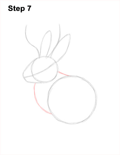 How to Draw a Jackalope Rabbit Antlers 7