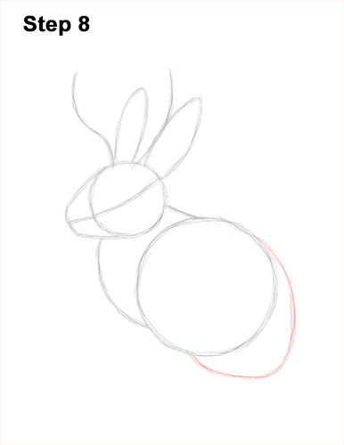 How to Draw a Jackalope Rabbit Antlers 8