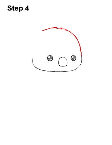 How to Draw Cute Cartoon Koala Bear 4