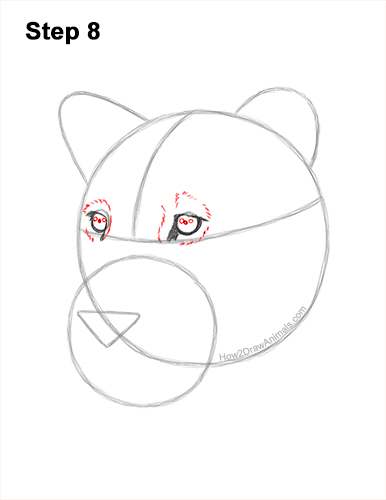 How to Draw a Lioness Head Face Portrait 8