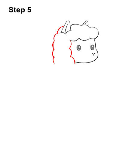 How To Draw A Llama Cartoon Video Step By Step Pictures