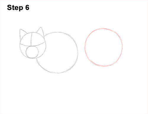 How to Draw Canada Lynx Cat Bobcat Wildcat 6