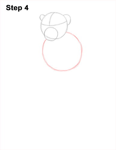 How to Draw a Rhesus Macaque Monkey Sitting 4