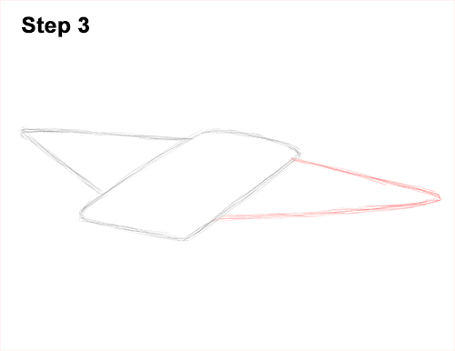 How to Draw Giant Oceanic Manta Ray 3