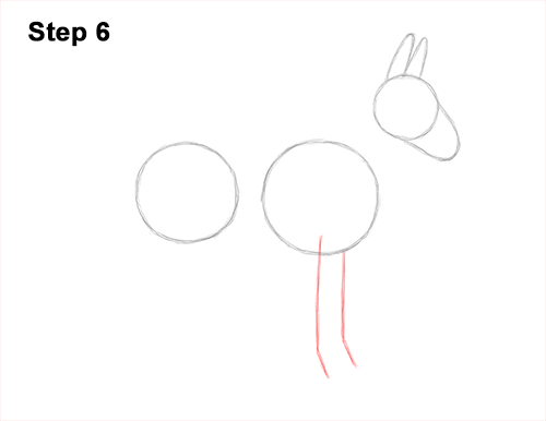 How to Draw a Mule Horse Donkey Side View 6