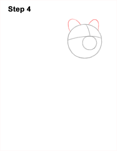 How to Draw a Smiling Quokka Short Tail Scrub Wallaby 4