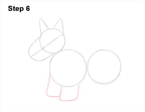 How to Draw a Scottish Terrier Puppy Dog Side 6