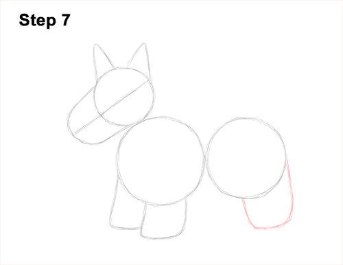 How to Draw a Scottish Terrier Puppy Dog Side 7