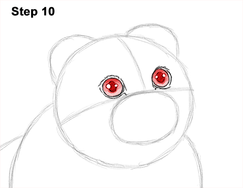 How to Draw a Scottish Fold Cat Playing Pawing Swiping 10