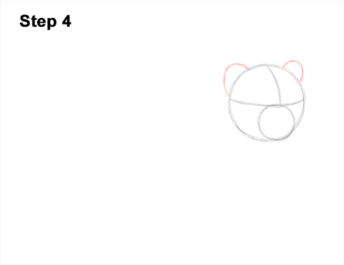 How to Draw a Cute Baby Tiger Cub 4