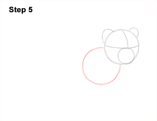 How to Draw a Cute Baby Tiger Cub 5