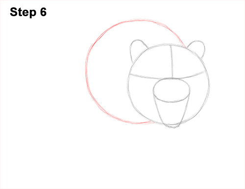 How to Draw a Mean Tiger Roaring Growling Stalking 6