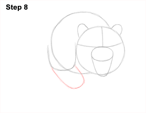 How to Draw a Mean Tiger Roaring Growling Stalking 8