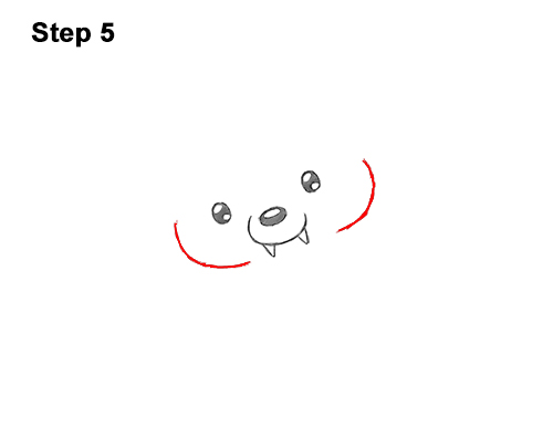 How to Draw Cute Cartoon Puppy Dog Vampire Dracula Halloween 5
