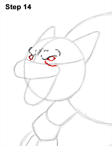 How to Draw Growling Snarling Scary Angry Werewolf 14