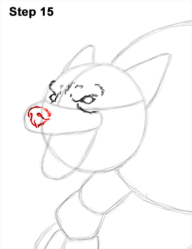 How to Draw Growling Snarling Scary Angry Werewolf 15