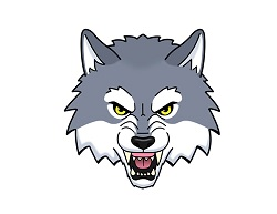 How to Draw a Growling Snarling Angry Cartoon Wolf Head