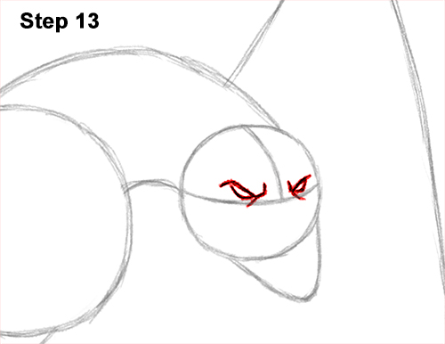 How to Draw Wyvern Dragon Wings Flying 13
