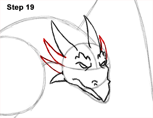 How to Draw Wyvern Dragon Wings Flying 19
