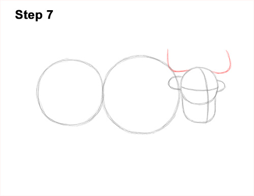 How to Draw a Domestic Himalayan Tibet Yak 7
