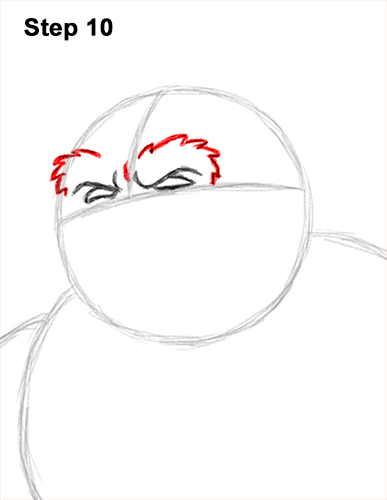 How to Draw a Yeti Abominable Snowman Monster 10