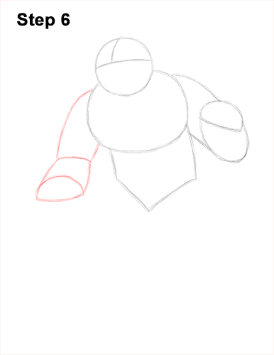 How to Draw a Yeti Abominable Snowman Monster 6